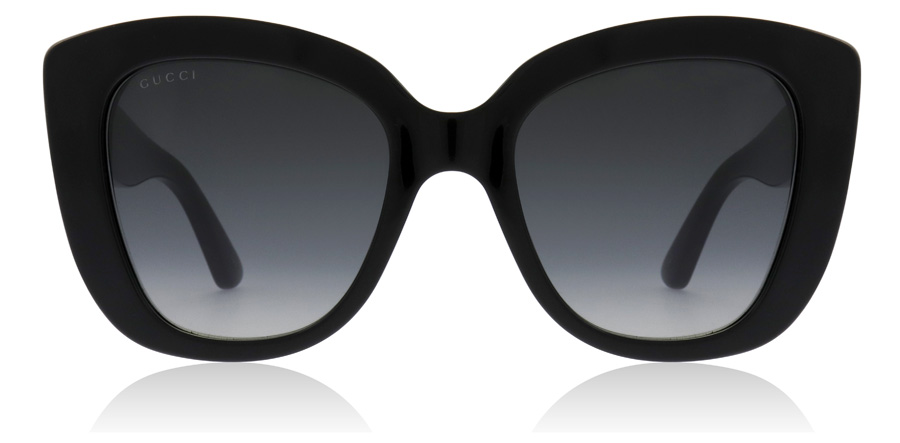 Gucci GG0327S Sort 001 52mm
