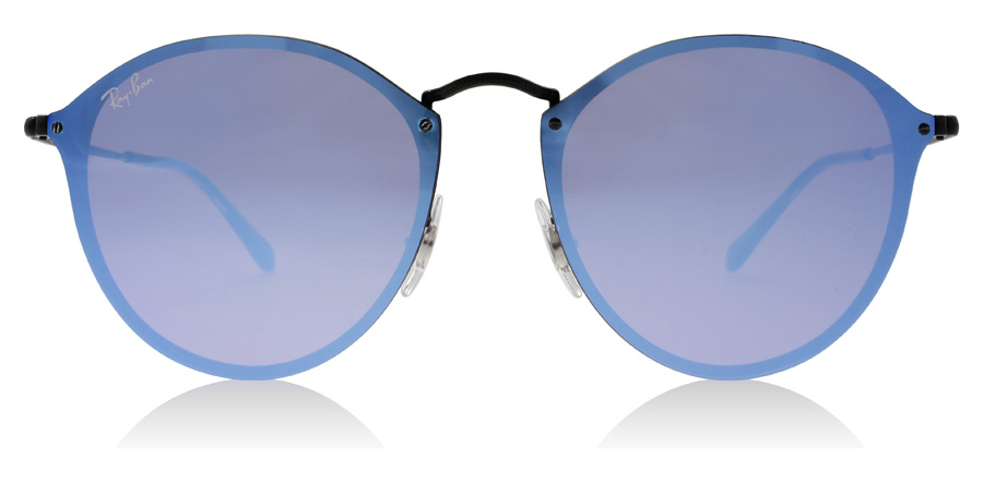 Ray-Ban RB3574N Blaze Semigloss sort 153/7V 59mm