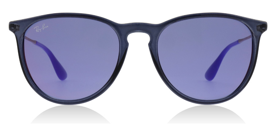 Ray-Ban Erika RB4171 Transparent blå 6338D1 54mm