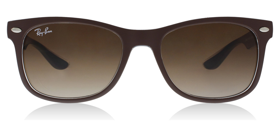 Ray-Ban Junior RJ9052S Age 12-15 Years Matt brun på blå 703513 48mm