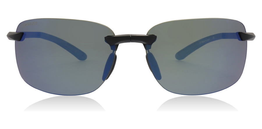 Serengeti Ceriale 8814 Matte Black / Blue 62mm Polariserte