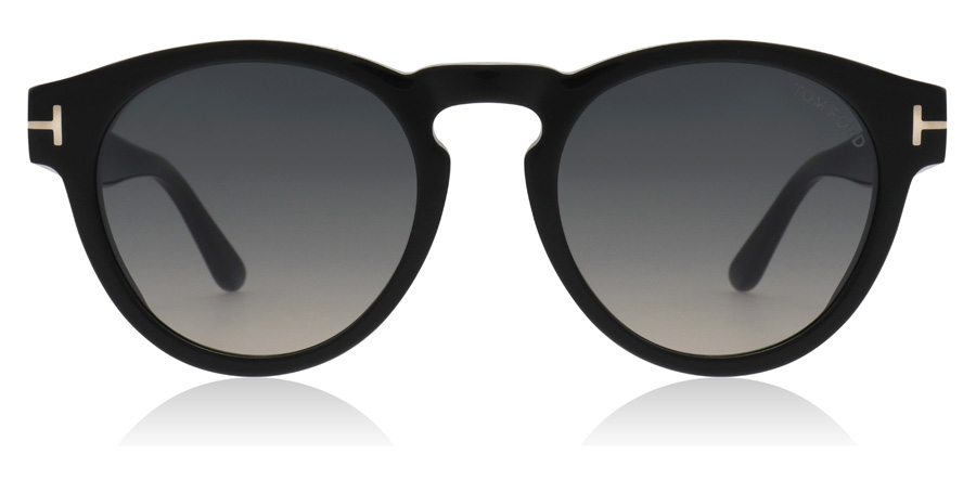 Tom Ford Margaux FT0615 Shiny Black 01B 50mm