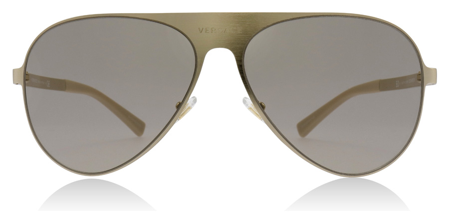 Versace VE2189 Børstet blekgull 1339/3 59mm