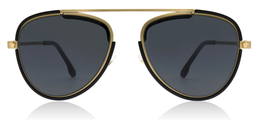 Versace VE2193 Tribute gull / sort 142887 56mm