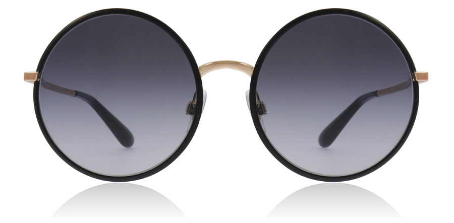 Dolce and Gabbana DG2155 Matt sort / gull 12968G 56mm