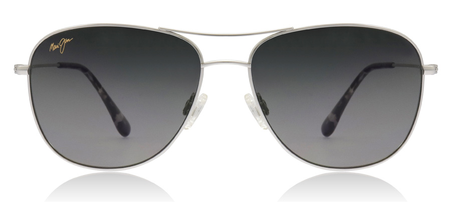 Maui Jim Cliff House GS247 Sølv 17 59mm Polariserte