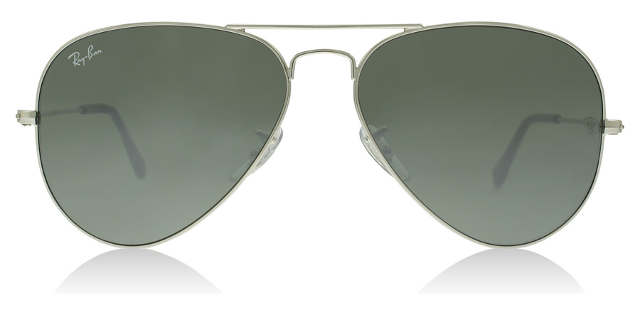 Ray-Ban RB3025 Sølv med Speilglass W3275 55mm
