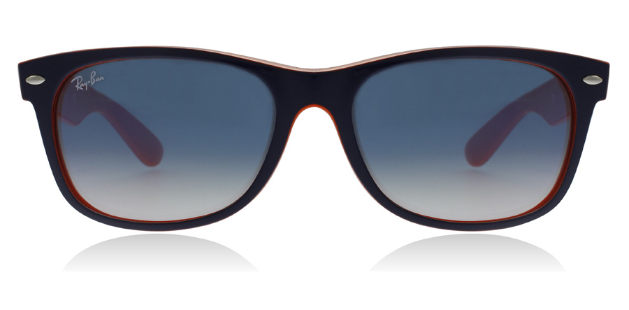 Ray-Ban RB2132 New Wayfarer Topp blå oransje 789/3F 52mm