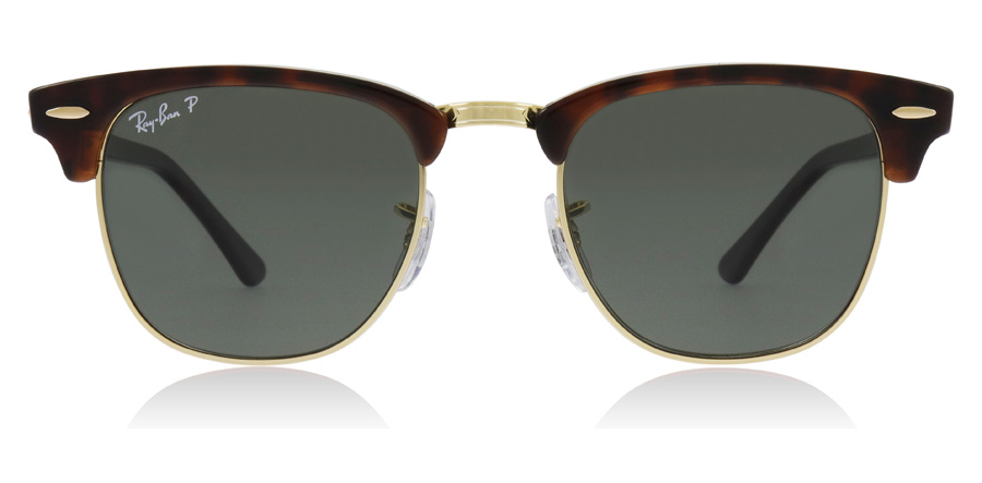 Ray-Ban RB3016 Rød havana 990/58 49mm Polariserte