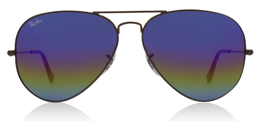 Ray-Ban RB3025 Metallisk mørk bronse 9019C2 58mm