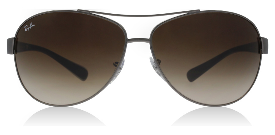 Ray-Ban RB3386 Stålgrå 004/13 63mm