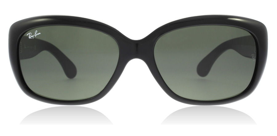 Ray-Ban Jackie Ohh RB4101 Blank sort 601 58mm