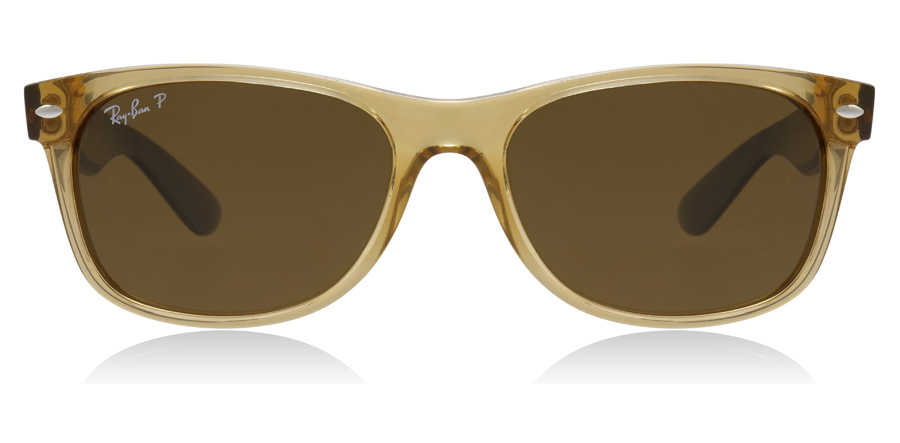 Ray-Ban RB2132 New Wayfarer Honning 945/57 55mm Polariserte