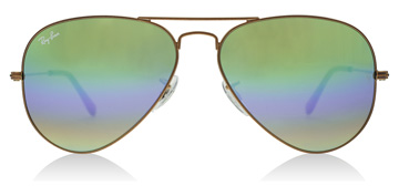 Ray-Ban RB3025 Metallisk medium bronse