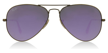 Ray-Ban RB3025 Demigloss børstet bronse